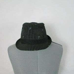 Fender Accessories - Fender Fedora Hat Stripes Black S/M Guitar